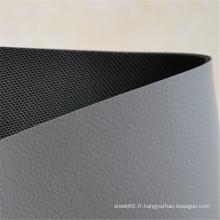 Feuille en caoutchouc antistatique de feuille en caoutchouc d'ESD grise et noire