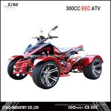 300cc Quad Bike EEC Racing ATV Wassergekühlte Getriebe Automatische CVT