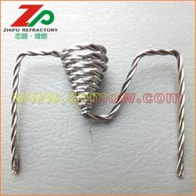 China for Tungsten Wire 99.95% purity coiled wire heater export to Estonia Factory
