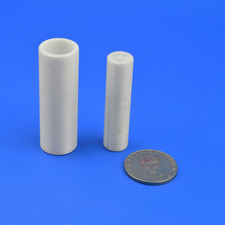 Alumina Tube With Screws
