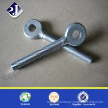 Parafusos de balanço de boa qualidade Perna de rotação de grau 8.8 Parafuso de fecho acabado em zinco