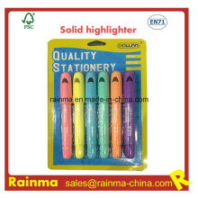 No tóxico de buena calidad Smooth Lines Solid Highlighter