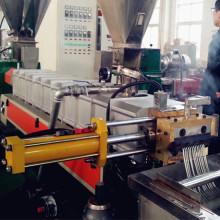 Masterbatch de plástico que faz a linha de produção do granulador
