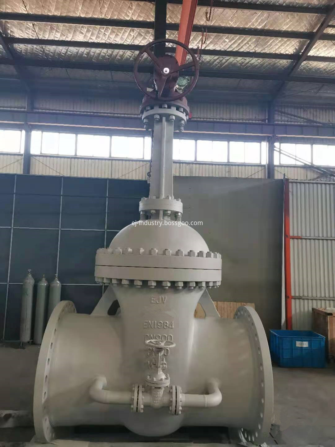 gate valve with bypass