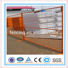 Painel provisório galvanizado soldado construção da cerca / painéis de cerca soldados provisórios do metal para a venda (preço de fábrica)