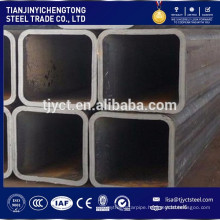 Welded structure steel pipe RHS / SHS hollow section steel tube