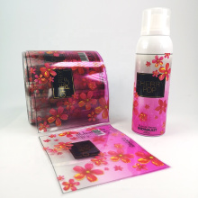 High Quality WaterProof Clear Adhesive Label Printing For Shampoo Bottle