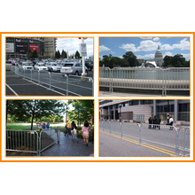 Hot-Dipped Galvanized Used Crowd Control Barriers