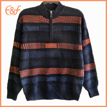 Mens Heavy Winter Half Turtleneck Sweat Patterns Sweater
