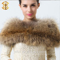 2014 New Fashion Ladies Warm Winter Collar For Real Raccoon Fur Shawl