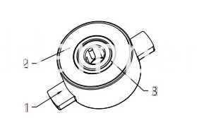 Computer Conference Table Barrel Damper