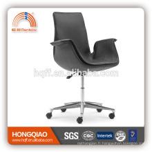 CM-B129BS chaise de loisirs chaise en cuir chaise en acier inoxydable