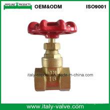 Válvula de parada forjada latón modificado para requisitos particulares de la calidad (AV4063)