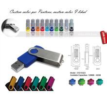 USB-Blitzscheibe mit Aluminiumabdeckung (01D18001)