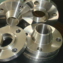 Raised face steel weld neck flange