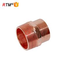Adaptadores de cobre macho B accesorios de cobre roscados accesorios de tubería de cobre de 10 mm