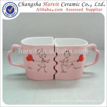 Tasses de cadeaux de la Saint-Valentin Tasses / Tasses de café drôles / Tasses de couples