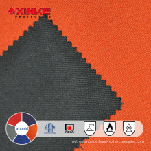 Inherently flame retardant meta aramid fabric
