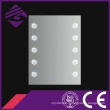 Rectángulo público iluminado LED espejo de baño