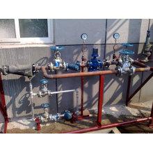 Prv (presión reduce las válvulas) Estación para el vapor