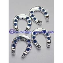 Turkish Evil Eye Blue Horseshoe acrylic decorative accessories wholesale