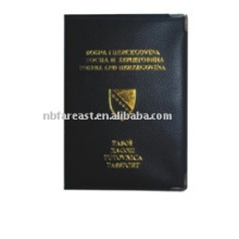 Nouveau mode de conception à bas prix pu & pvc passeport titulaire, passeport, couverture de passeport