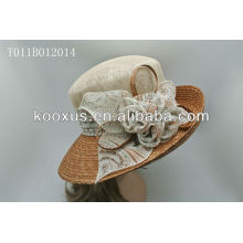 2014 Sinamay hat/Church hat/Wedding hat