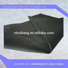 manufacturing high quality non-woven activated carbon fiber cloth