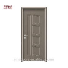 Portas de madeira residenciais na porta do PVC de Foshan