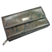 Carteira projetada superior, carteira de couro, bolsa