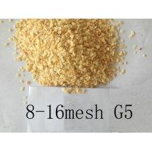 Ar desidratado alho granulado 8-16mesh forte sabor G5