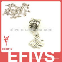 2013 New Fashion fish charms 925 silver pendant charms