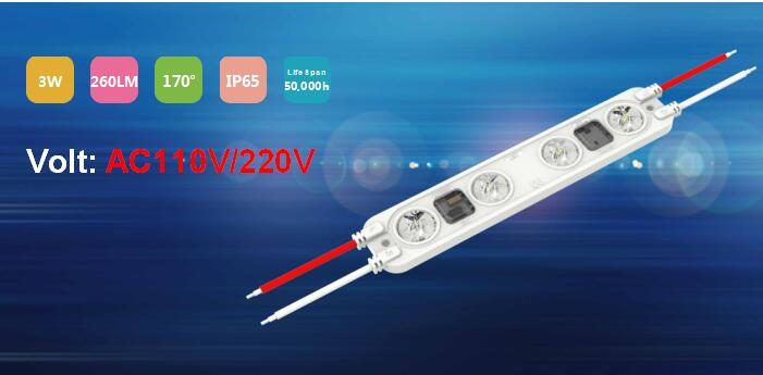 AC220V Back Lighting Módulo LED de 3W
