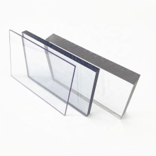 Feuille de toiture en plastique solide en polycarbonate