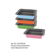 23*22 cm Colorful Coating Square Cake Pan