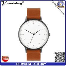 Os relógios de pulso dos homens das mulheres Yxl-013 constroem seus próprios relógios relógio de tipo feito sob encomenda