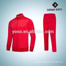 OEM personalizado treino homens homens de manga longa de algodão roupas esporte terno