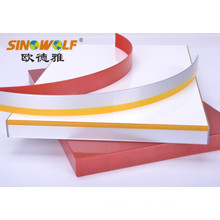 factory customized for China Unit Color Edge Banding Decorative 3D-Acrylic edge banding for furniture supply to United States Exporter