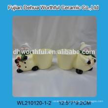 Керамические цветочные горшки, керамический пантер