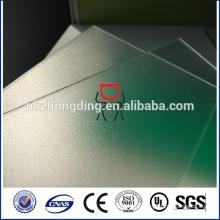 5мм прозрачный лист матовый поликарбонат для перегородки офиса