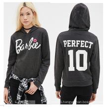 Factory Manufacture High Quality Fashion Ldies Hoodies