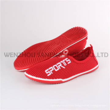 Latest Lady Sock Canvas Shoes Injection Shoes