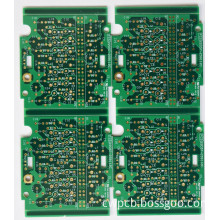 Display touch panel button printed circuit boards