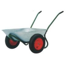 Garten oder Bauernhof verwenden Schubkarre zwei Rad 6406