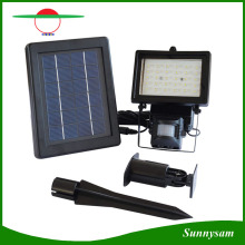Waterproof 30 LED Solar Powered Flood Light Motion Sensor Spotlight Outdoor Garden Lamp