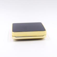 carré luxe pouf pouf air coussin cas vide bb coussin poudre cas avec miroir