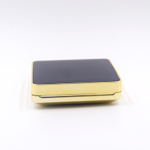 square luxury powder puff air cushion case empty bb cushion powder case with mirror