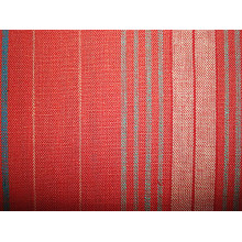 Linen Rayon Yarn Dyed Stripe Fabric