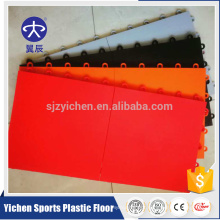 Indoor removeable futsal court flooring PP interlocking tiles for futsal