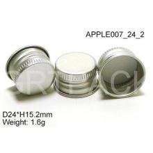 PP Bottles Aluminum Screw Cap , Silkscreen Printing 24 X H1